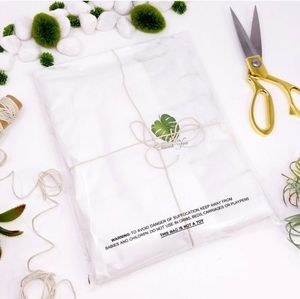 100 6x9 suffocation warning clear self seal bags